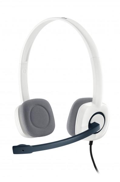Logitech Stereo Headset H150 - On-Ear kabelgebunden - Coconut - 981-000350